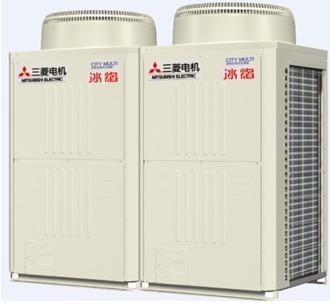 成都三菱电机中央空调安装外机