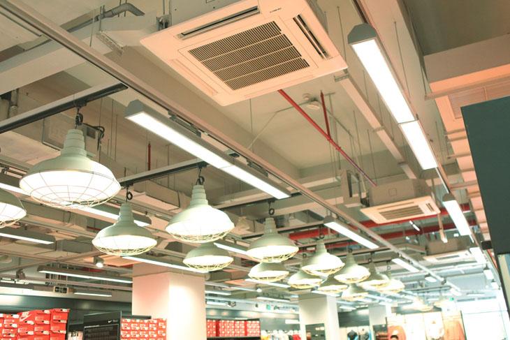 成都商用中央空调安装报价-商用中央空调水系统商场